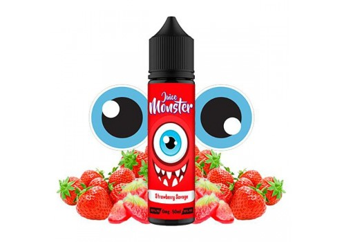 E-liquid Juice Monster Strawberry Savage 50ml